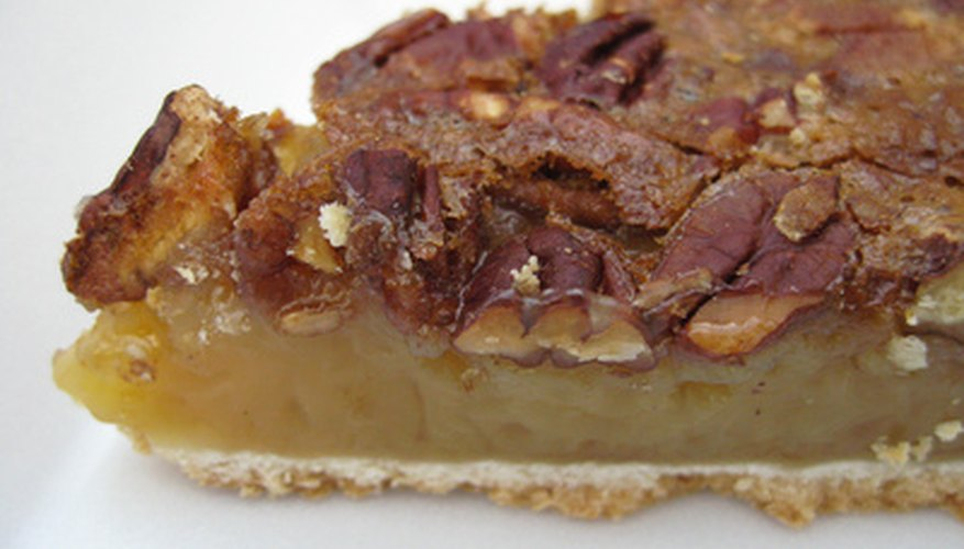 Pecan pie is one of the many treats we can make with pecans.