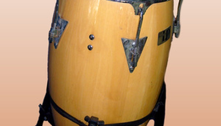 The tumbadora is one of the three types of conga drums.