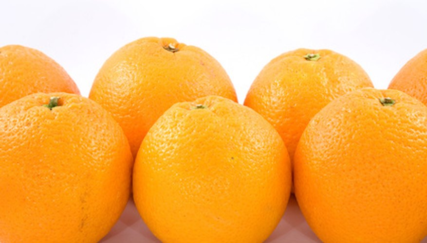 An orange is a citrus fruit.
