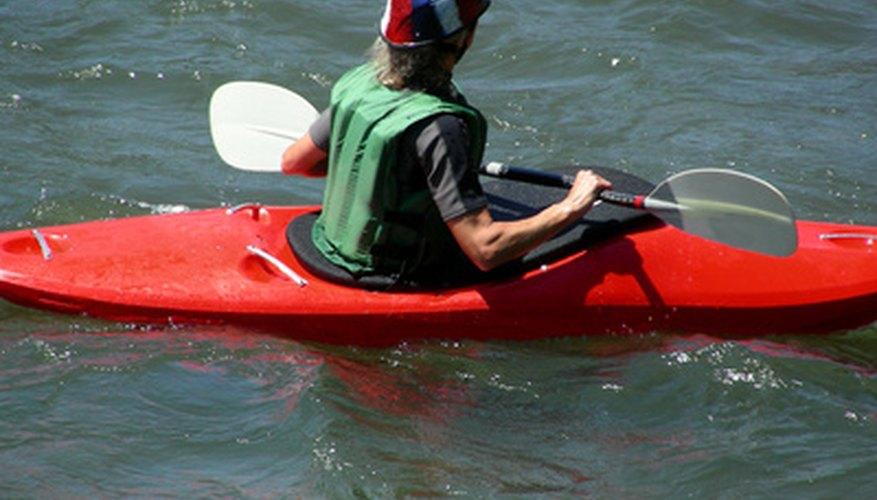 Andar en Kayak es una actividad divertida para realizar en verano.