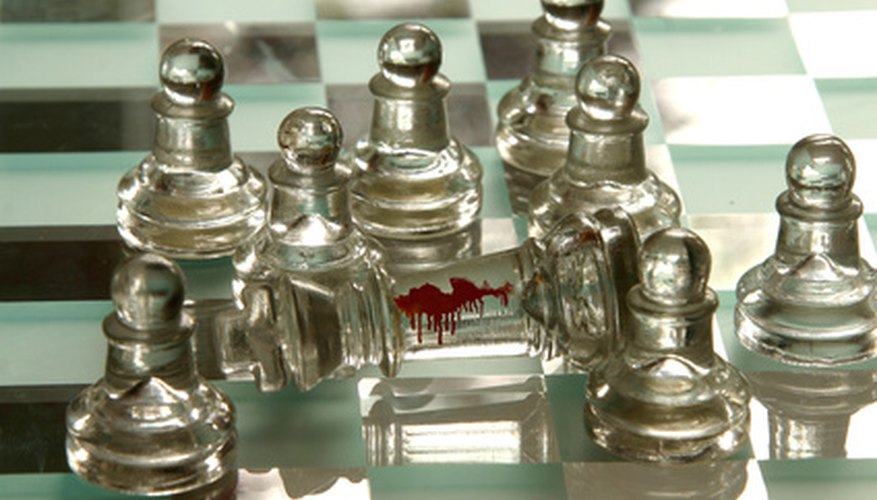 Solving a murder mystery can be as difficult as playing a game of chess with an expert.