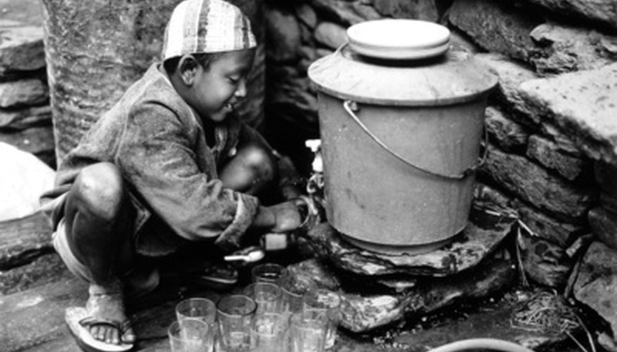 El trabajo infantil.