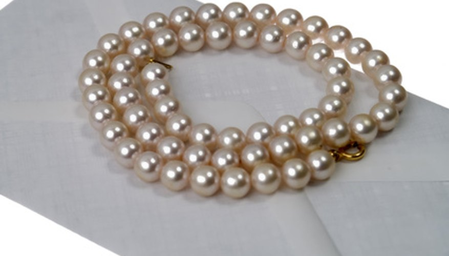 A strand of pearls could be worn during the dance and church scenes.