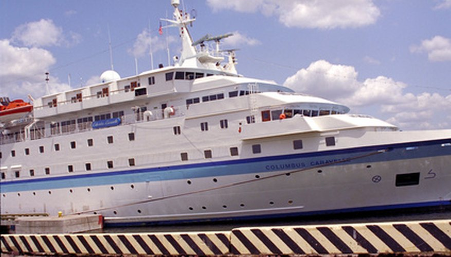 Varias partes de los cruceros sirven para entretenerte cuando estás en el mar.