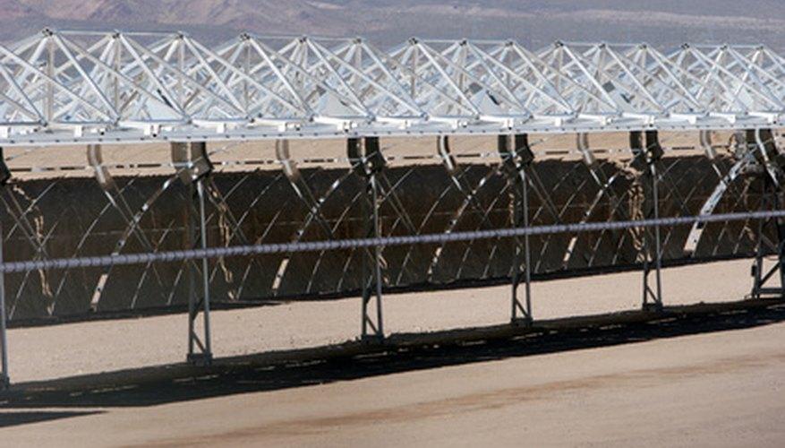 La energía solar está comenzando a ser producida en masa a gran escala.
