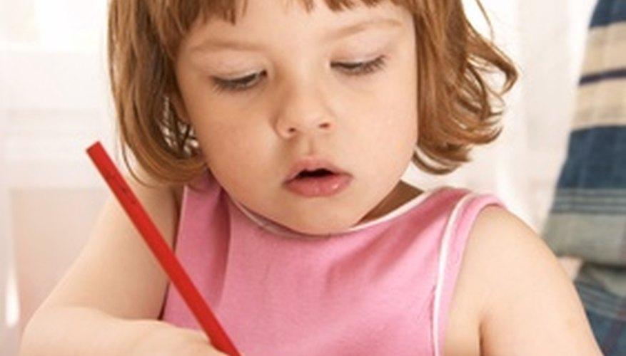Lidiar con preescolares requiere una manera creativa para el manejo de la clase.