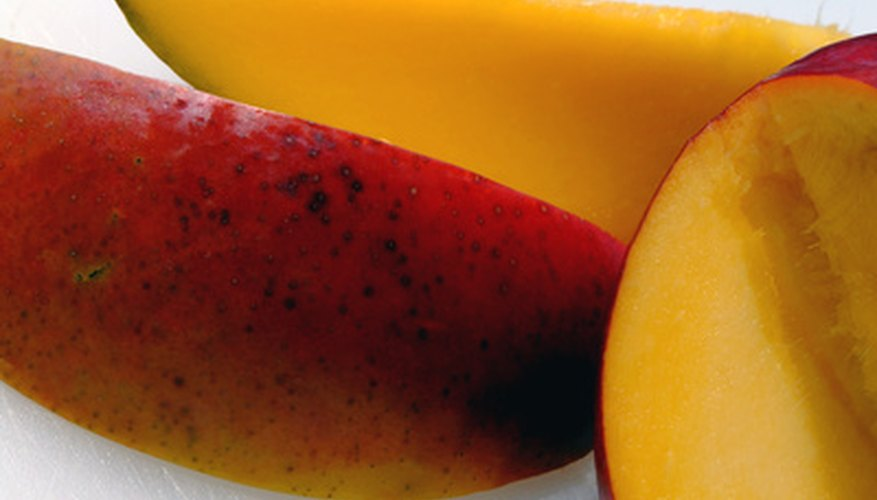 Fresh mango has many uses.