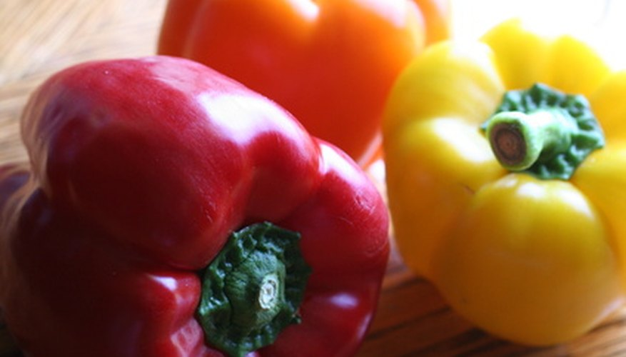 Sweet bell peppers need wet soil to thrive.