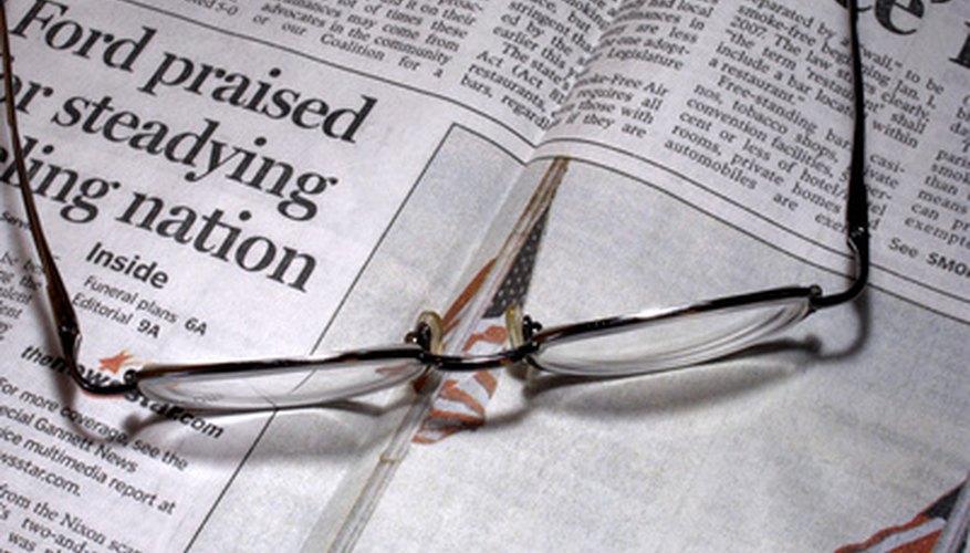 Te sorprenderá aprender cómo se hace el periódico.