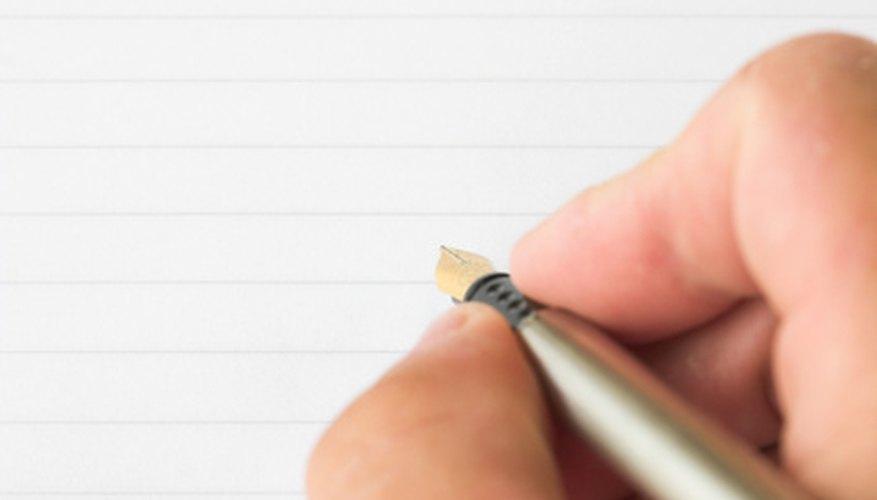 La taquigrafía te puede ayudar cuando se trata de tomar dictados.