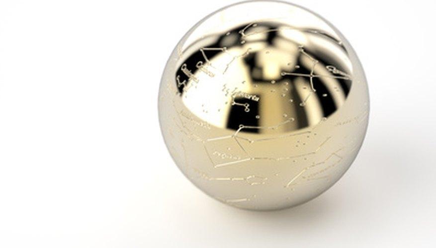 Una bola de metal pequeña es ideal para la medición de la viscosidad.