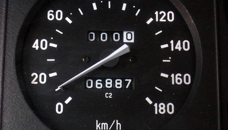 Cómo calibrar un velocímetro.