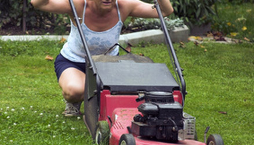 Grass clippings are a great way to organically fertilize your lawn.