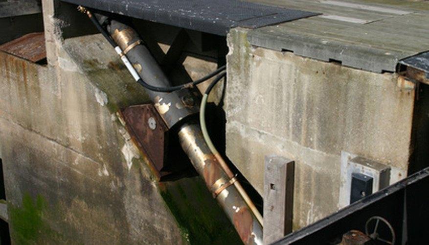 hydraulic lock mechanism
