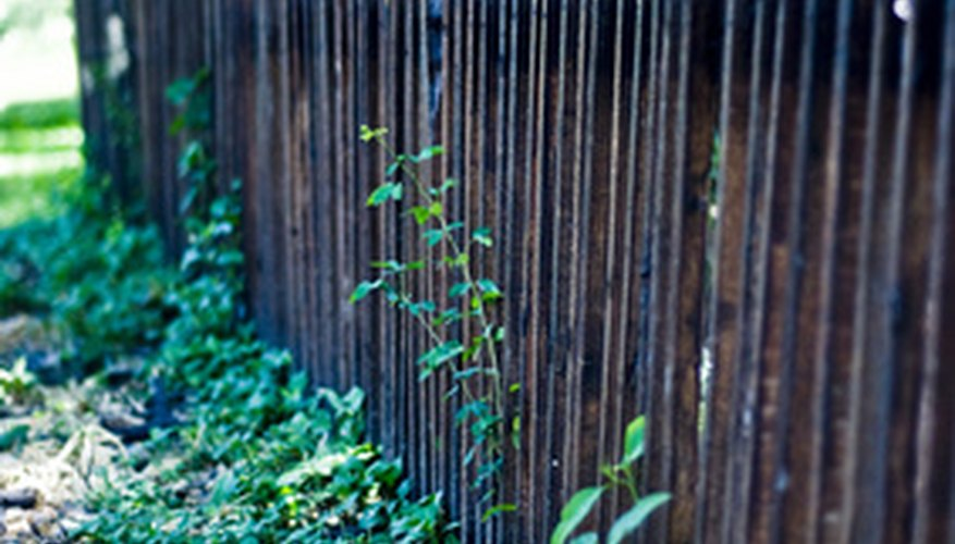 Make sure your fence is in good repair.