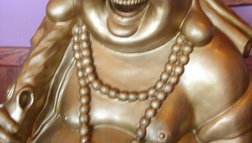 Las estatuas de Buda vienen en cientos de variedades, cada una con elementos simbólicos.