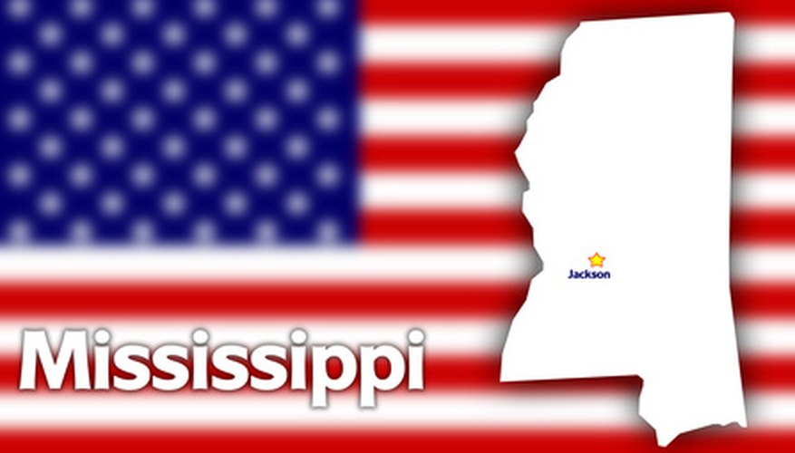 Mississippi businesses must apply for a tax ID number with the Tax Commission.