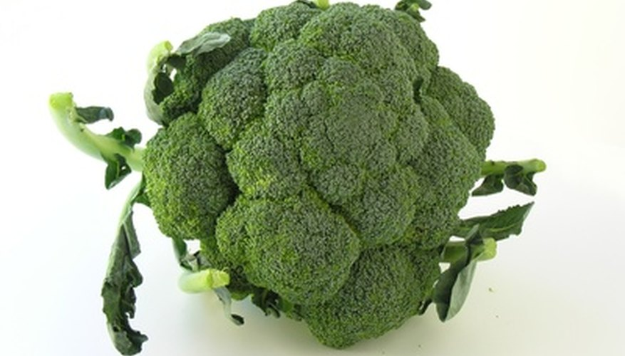 Broccoli grows well in containers.