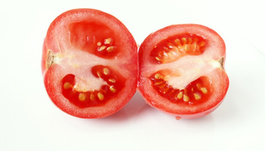 Roma tomatoes are usually used in making sauces.