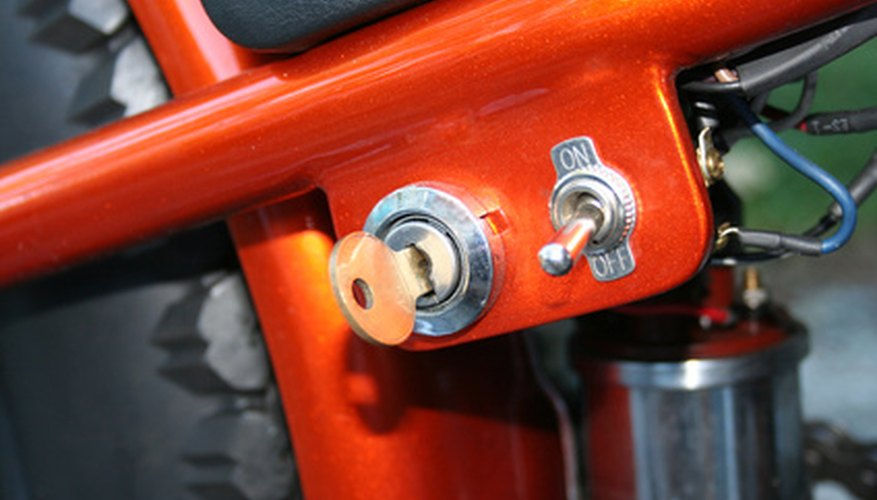 Motorcycle key Switch