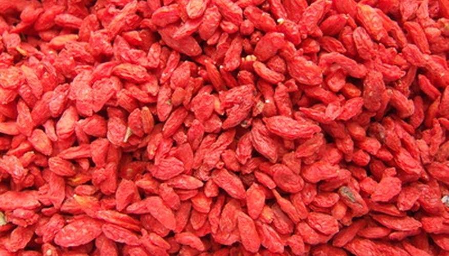 Goji berries are also known as wolfberries