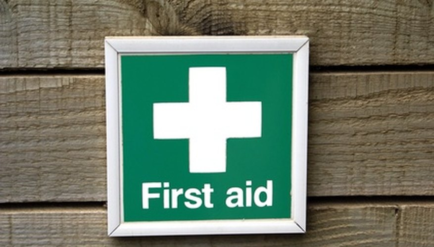 First aid kits are required by OSHA.