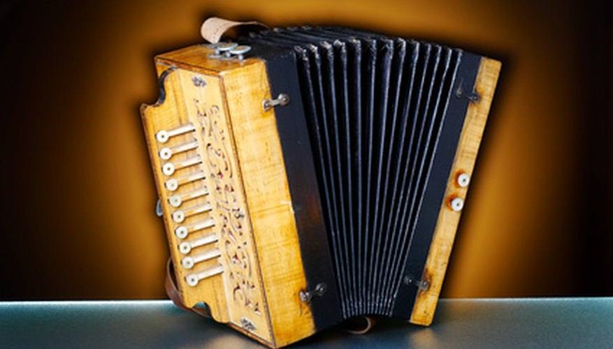 Accordions are played in folk music throughout North America, South America and Europe.