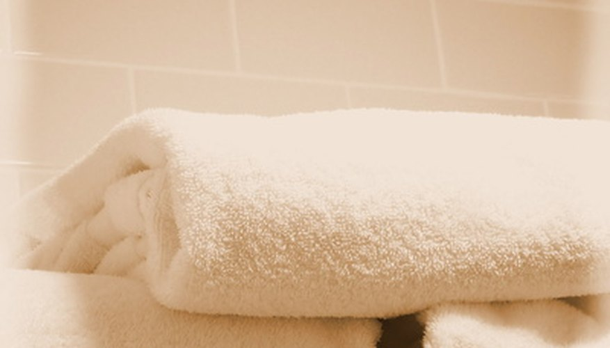 Soft, absorbent towels soak up moisture effectively.