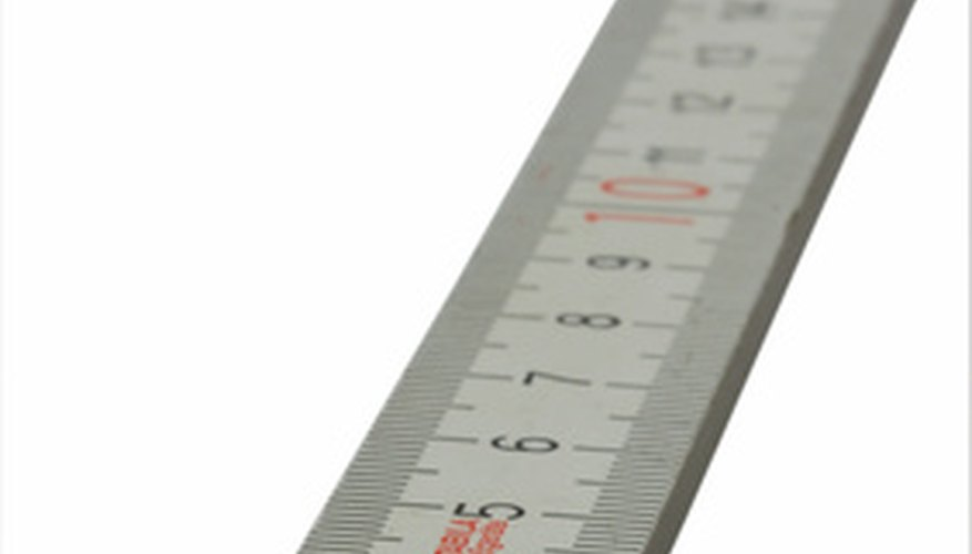 The Inch Is A Standard Unit Of Measurement