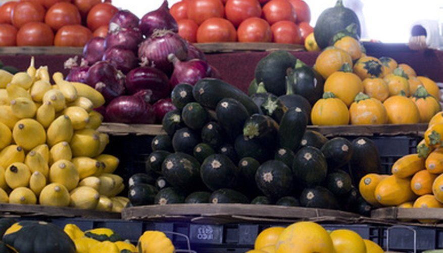 A variety of produce may be grown in Virginia