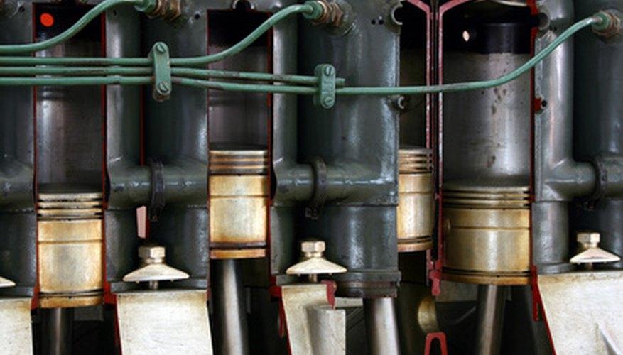 Los depósitos en el motor pueden afectar todo lo que tocan incluyendo las válvulas.