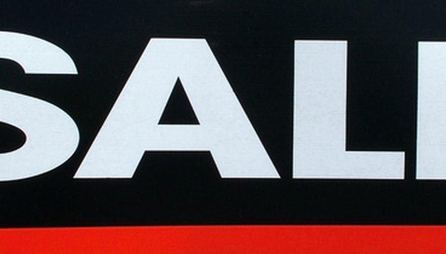 Un cartel de venta de garaje bien diseñado publicita más que el simple hecho de que hay un lugar de ventas.
