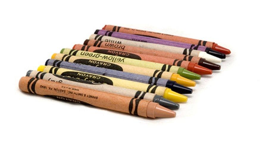 Usa tus crayones Crayola para crear diferentes tipos de arte.