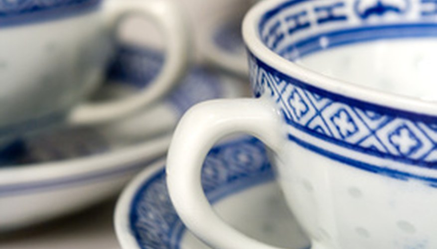 Repairing broken bone china doesn't have to be a costly ordeal, and can be accomplished at home.