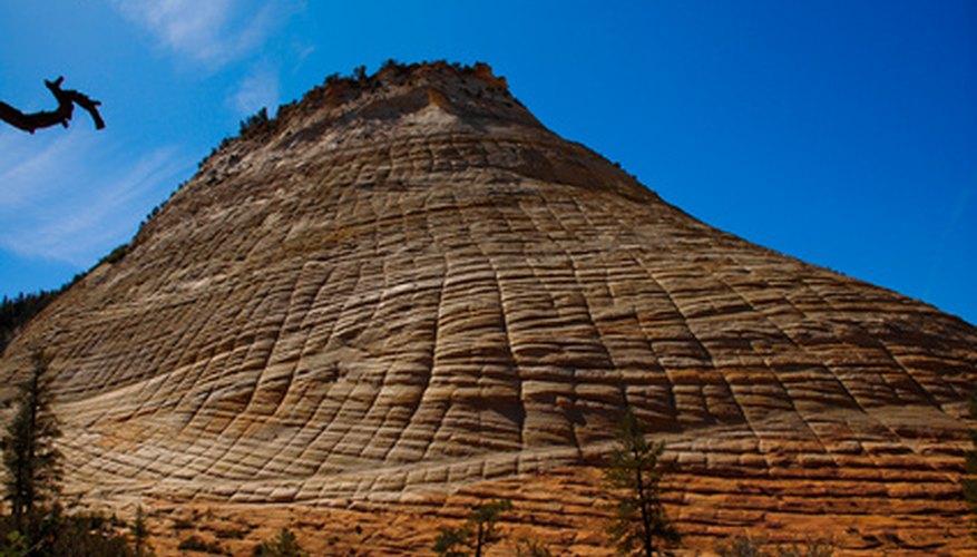 stratification of sandstone