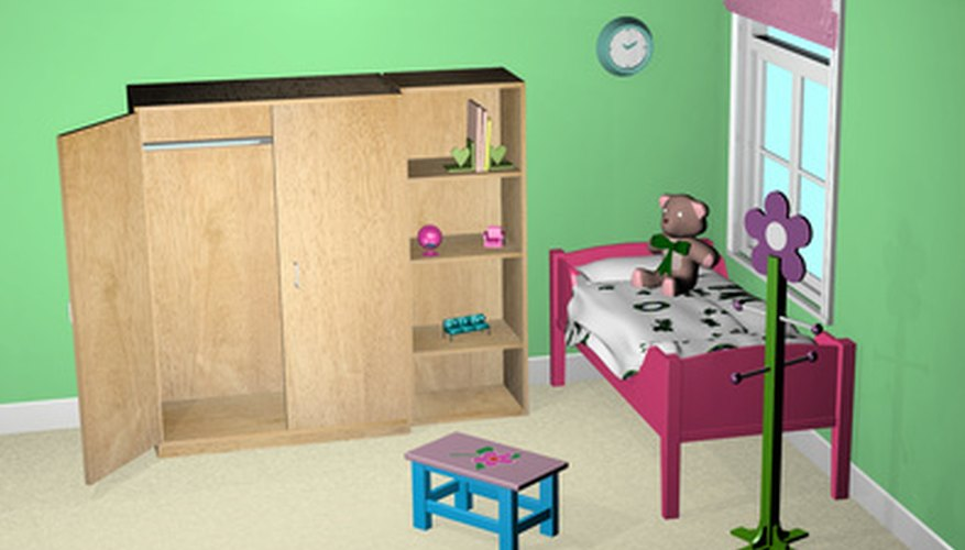 Some new accessories for a child's room can help her make it her own