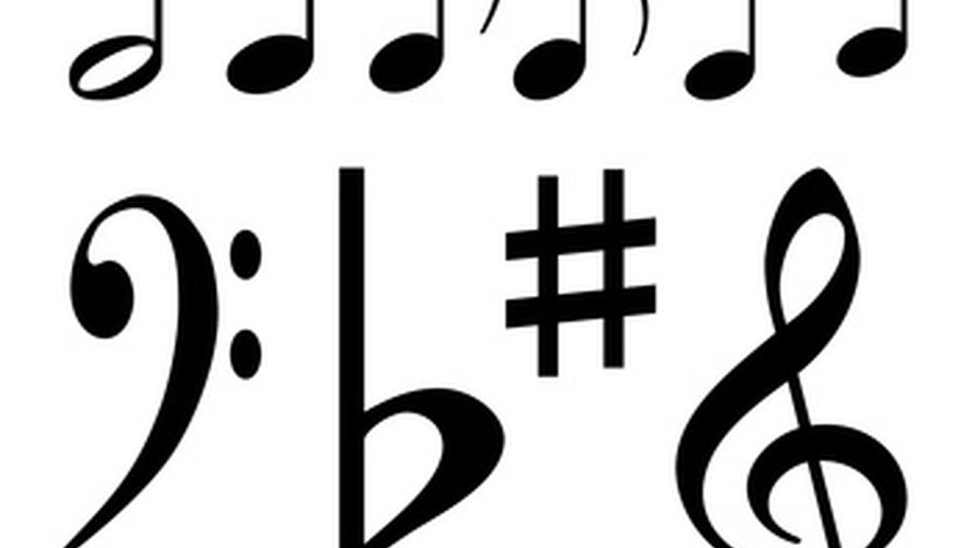 In addition to the key signature at the beginning of the staff, sometimes sharps and flats are written next to individual notes.