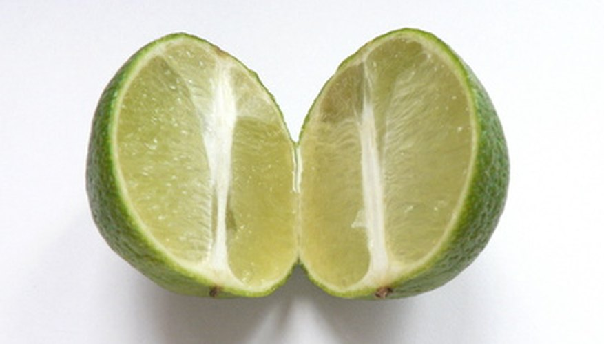 The Tahitian lime has no seeds.