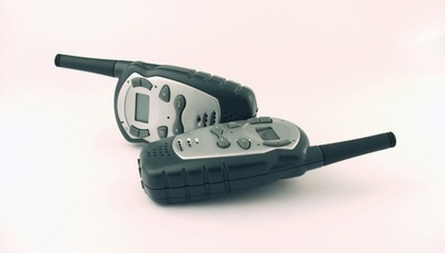 Two-way radios can be used many different fun ways.