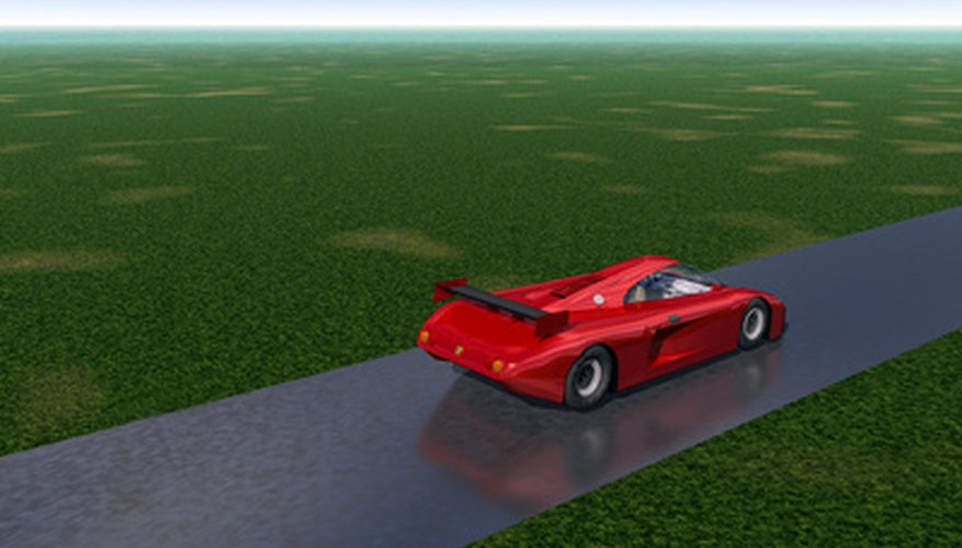 "Race cars have a special aerodynamic design to decrease the drag force called ""air resistance."