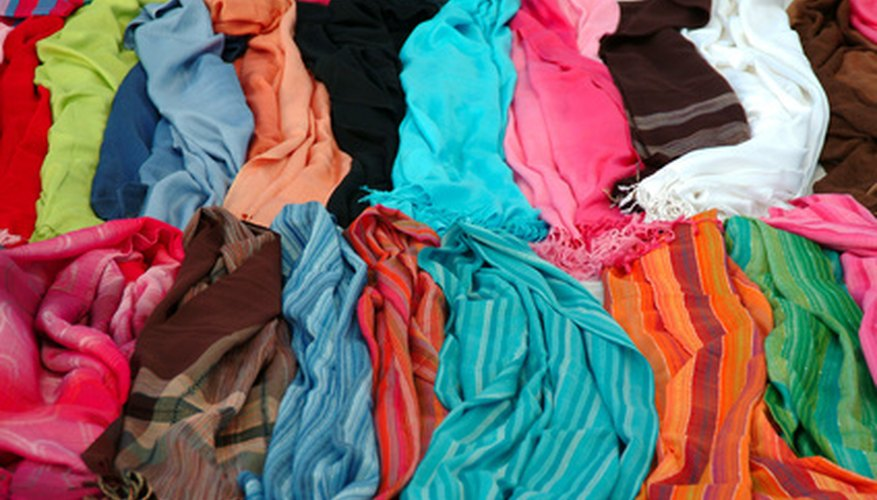 Different types of fabric can have different absorbencies.