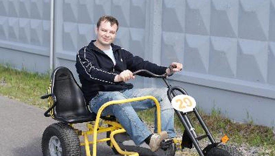 Los triciclos para adultos también vienen en versiones motorizadas.