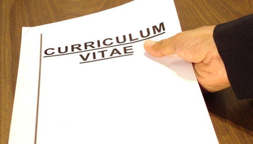 Un resumen puede ser la introducción de tu CV.