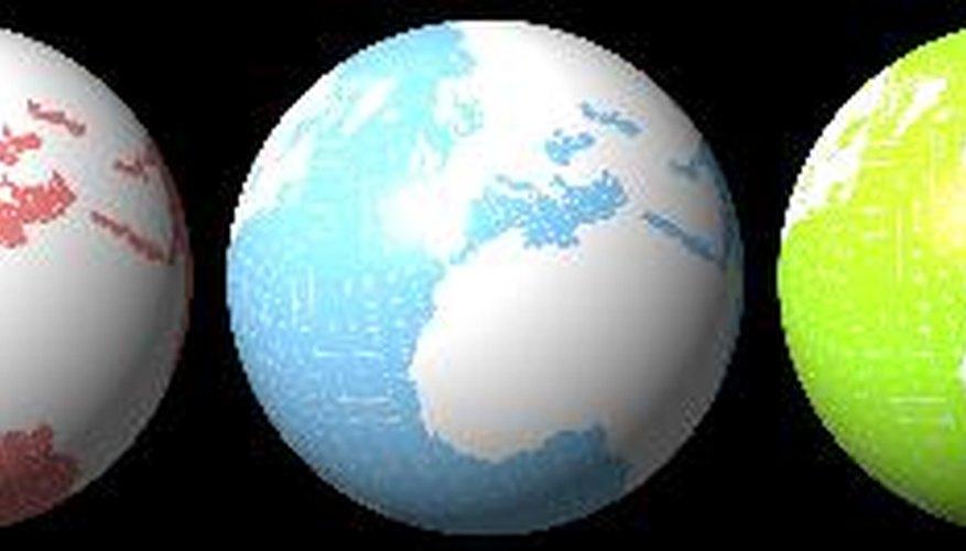 Es importante conocer el uso del globo terráqueo.