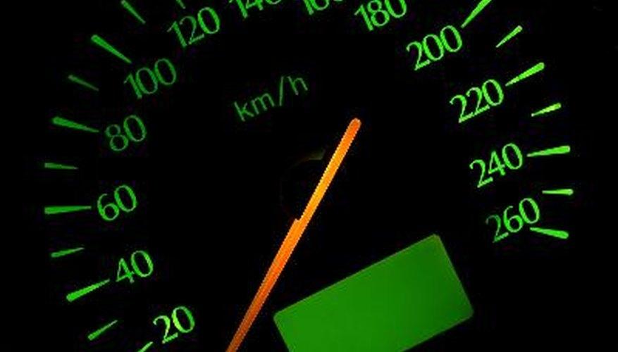 Crisp speedometer from a Ford Scorpio -95