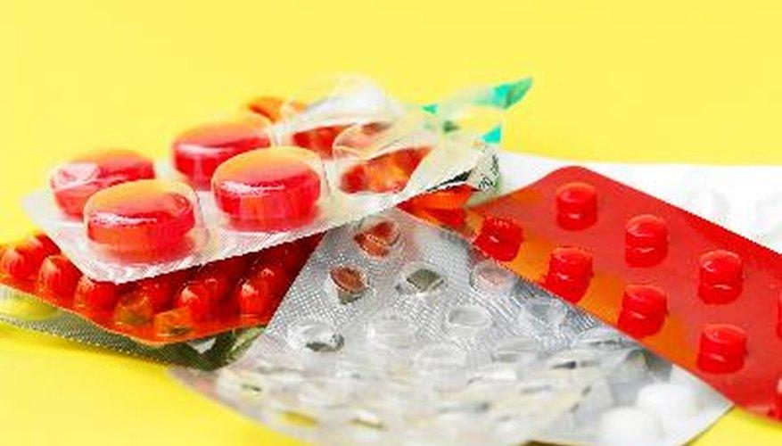 Los medicamentos para el resfriado y la tos contienen alcohol que pueden afectar los resultados.