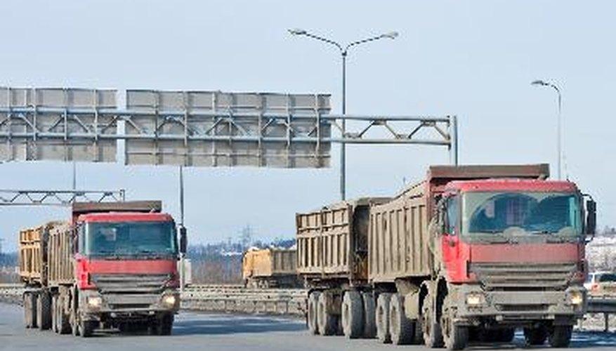 Los camiones Sterling.