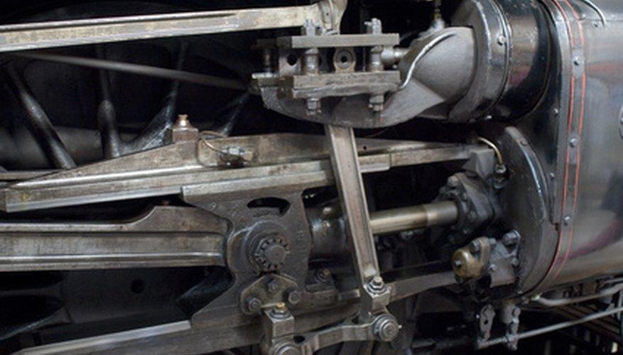 Engranaje del motor del vehículo.