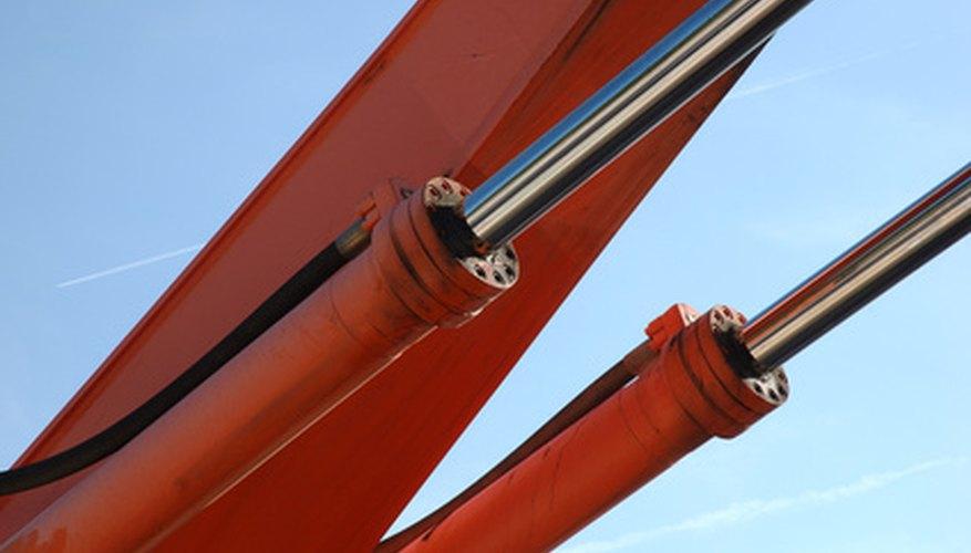 Los pistones hidráulicos suelen cromarse para disminuir el desgaste.