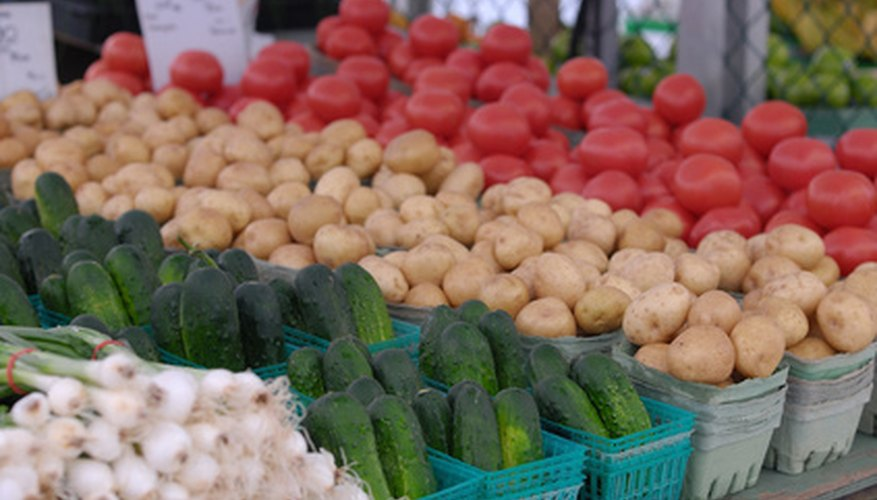 Vegetables at a local farmer's